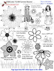 Summer Bloomin' stamp set