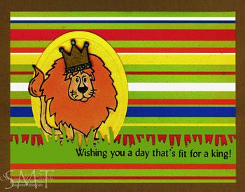 Lion-b-day